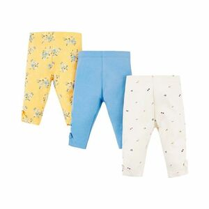 3er-Pack Leggings Blumen
