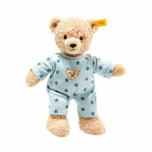 Teddybär Baby Teddy and Me mit Schlafanzug 25cm beige/blau