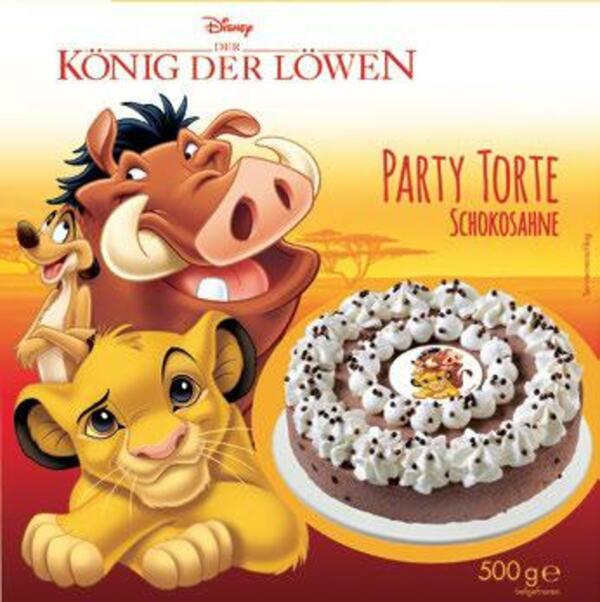Disney König der Löwen Schoko-Sahne-Torte