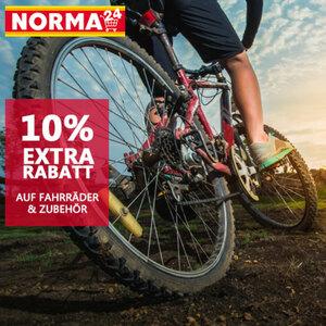 10% Rabatt auf alle Fahrräder bei NORMA24 ***Code: BIKE10***