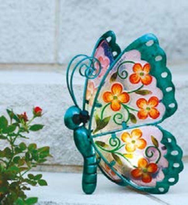 LED-Solar-Schmetterling