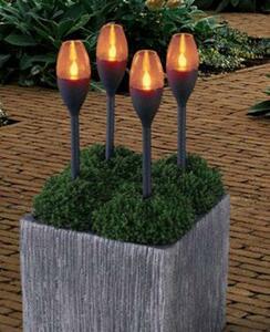 LED-Solar-Fackeln Set
