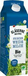 Naturland Gläserne Molkerei frische Bio-Weidemilch