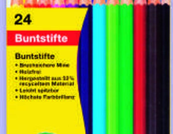 24 Buntstifte
