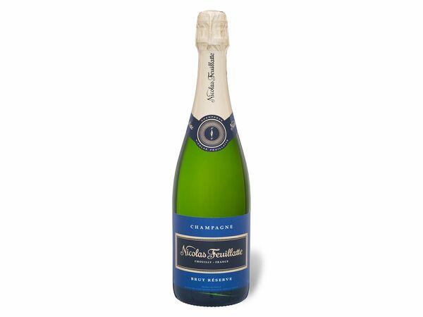 Nicolas Feuillatte brut Réserve, Champagner