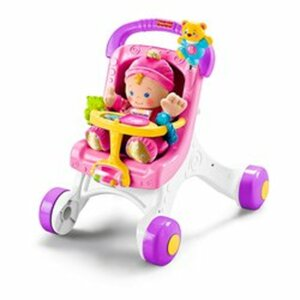 Fisher-Price - Lauflern- & Puppenwagen