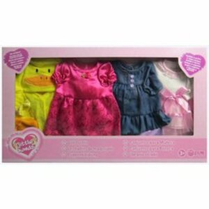 Puppenkleider 4er Pack 40-45 cm