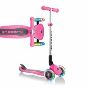 GLOBBER Tri-Scooter Primo Lights, pink
