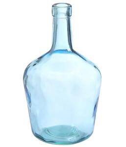 Glasvase, blau