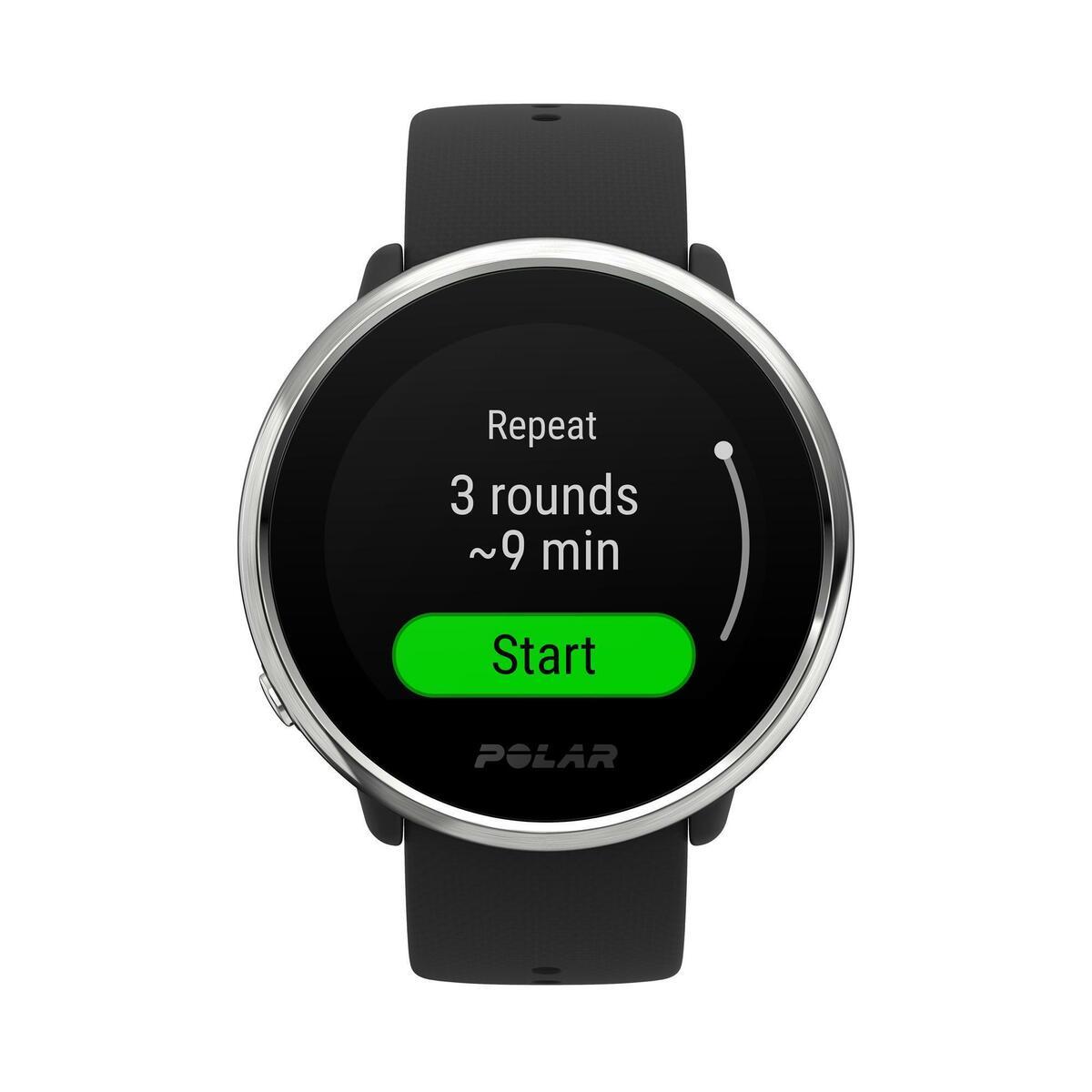 Bild 5 von GPS-Uhr wasserdicht mit Pulsmessung am Handgelenk Ignite schwarz