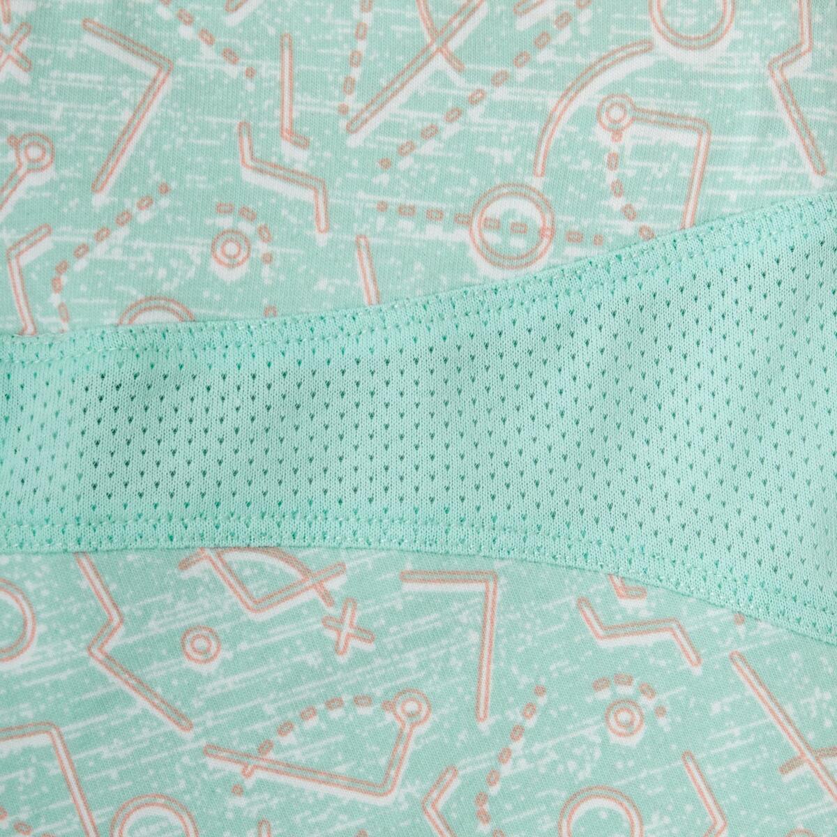 Bild 4 von Sporthose kurz 500 Babyturnen grün