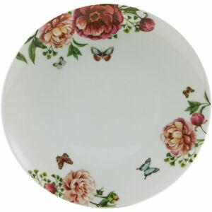 CreaTable Porzellan-Teller Enjoy Roses, weiß, 22 cm