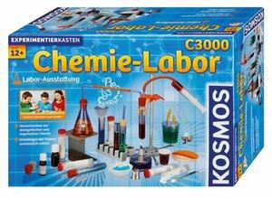 KOSMOS Experimentierkasten Chemielabor C 3000