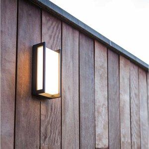 Eco-Light LED-Außenwandleuchte   Qubo