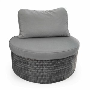 Gartensofa-Modul   Wow, Aluminium/Geflecht