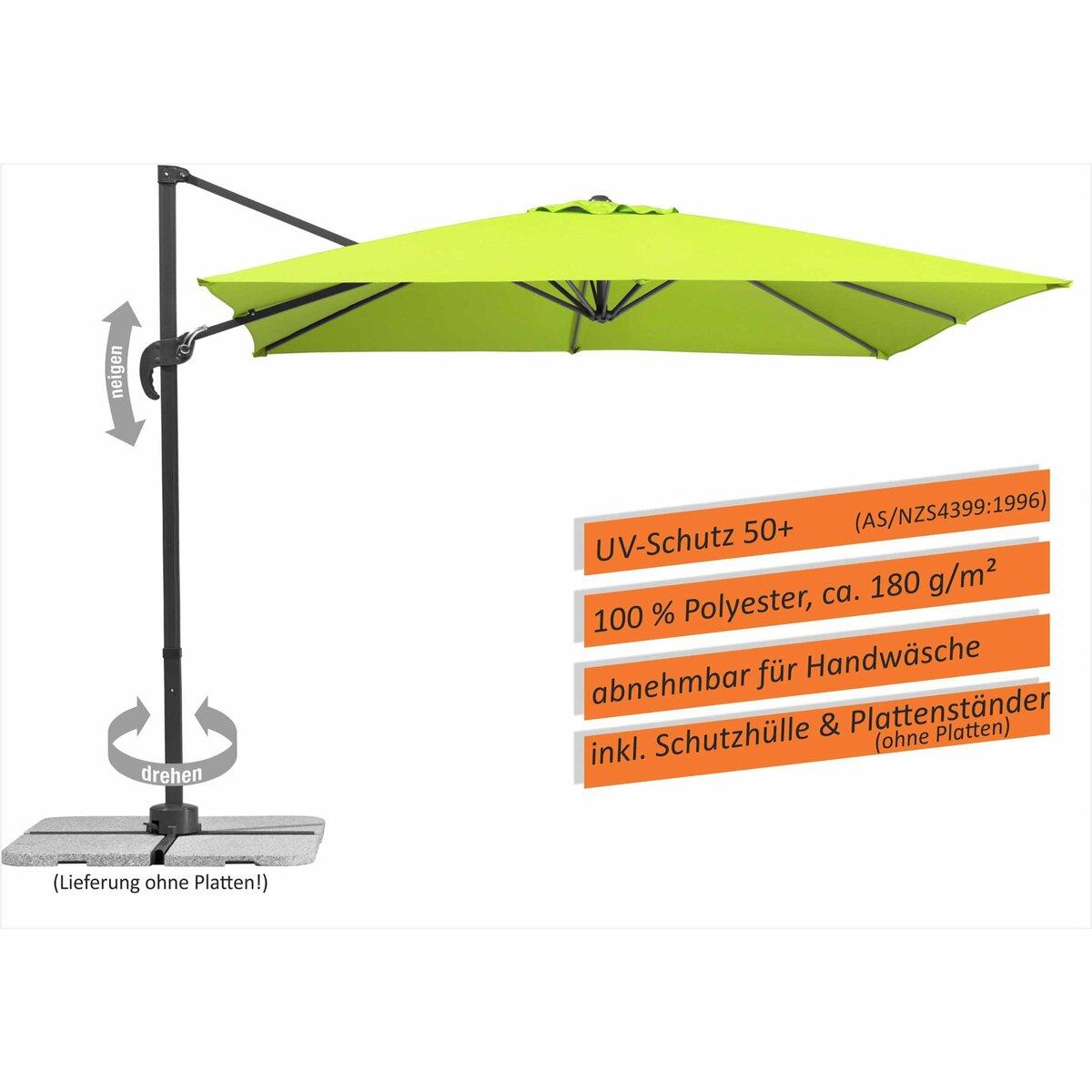 Bild 5 von Schneider Schirme Ampelschirm   Rhodos Junior, apfelgrün