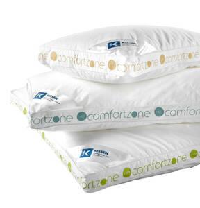 """K-Town             Kopfkissen """"Comfort Zone"""", 100% Baumwolle, soft, 80 x 80 cm"""