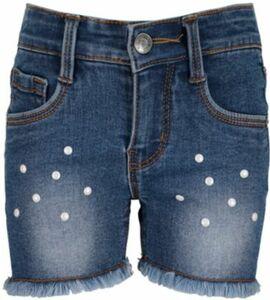 Jeansshorts mit Fransen blau Gr. 104 Mädchen Kleinkinder