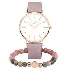 Liebeskind             Set Damenuhr und Armband LS-0072-LQB