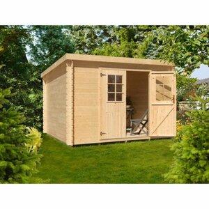 Holz-Gartenhaus Lillevilla 477 BxT: 210x180 cm inkl. Aufbauservice