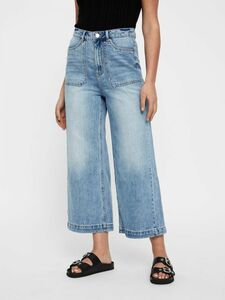 CROPPED HIGH WAIST JEANS
