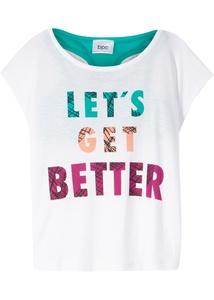 Bustier-Top + Shirt (2-tlg.)