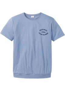 T-Shirt mit Spezial-Bauchschnitt