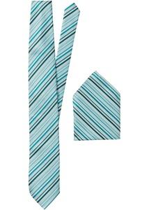 Set: Krawatte + Einstecktuch