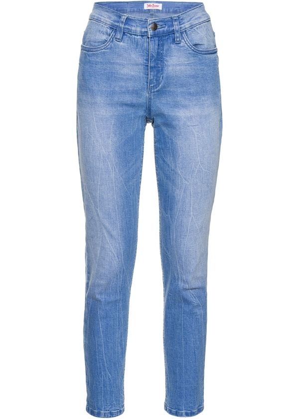 Soft-Stretch-7/8-Jeans, SLIM