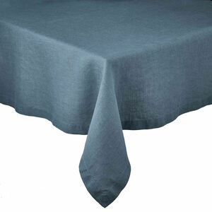 Tischdecke 160x300 cm blau