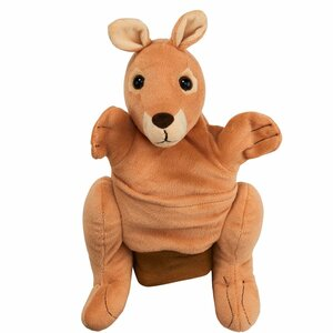 Handpuppe Känguru