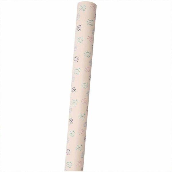 Paper Poetry Geschenkpapier Urlaub rosa 70cm 2m Hot Foil