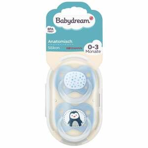 Babydream BS anatomisch Silikon 0-3 Monate Pinguin/Sterne