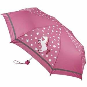 IDEENWELT Kinderschirm mit Farbwechsel, pink Einhorn
