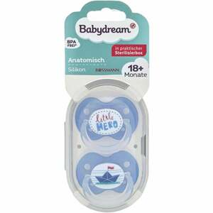 Babydream BS anatomisch Silikon 18+ Monate little Hero/Papierschiff