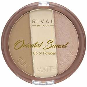Rival de Loop Oriental Sunset 3 Color Powder 17.40 EUR/100 g