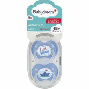 Babydream BS anatomisch Latex 18+ Monate little Hero/Papierschiff
