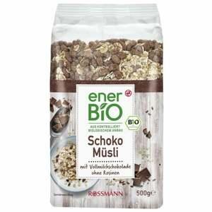 enerBiO Schoko Müsli 3.98 EUR/1 kg