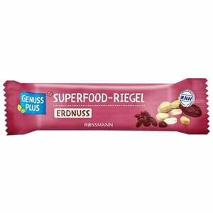 GENUSS PLUS Superfood Riegel Erdnuss 1.58 EUR/100 g
