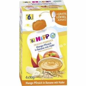 HiPP Bio Frucht-Porridge Mango-Pfirsich in Banane mit Ha 8.19 EUR/1 kg