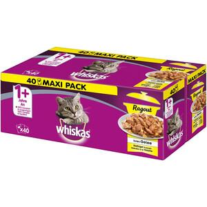 Whiskas Adult 1+ Ragout Geflügelauswahl in Gelee Multipack