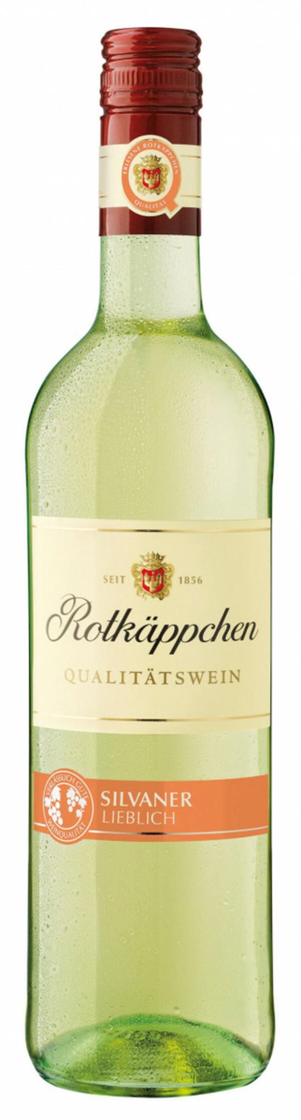 Rotkäppchen Qualitätswein Silvaner, halbtrocken