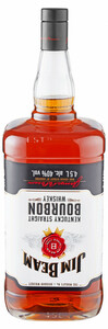 Jim Beam Bourbon Whiskey - 4,5 L