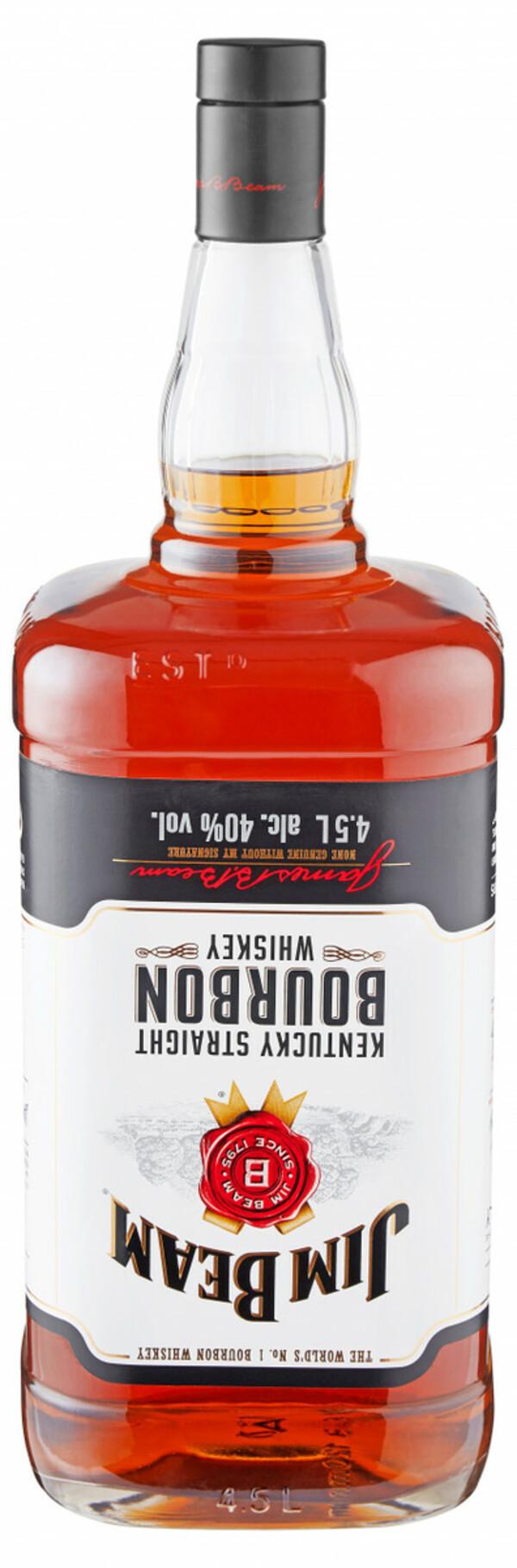 Jim Beam Bourbon Whiskey - 4,5 L
