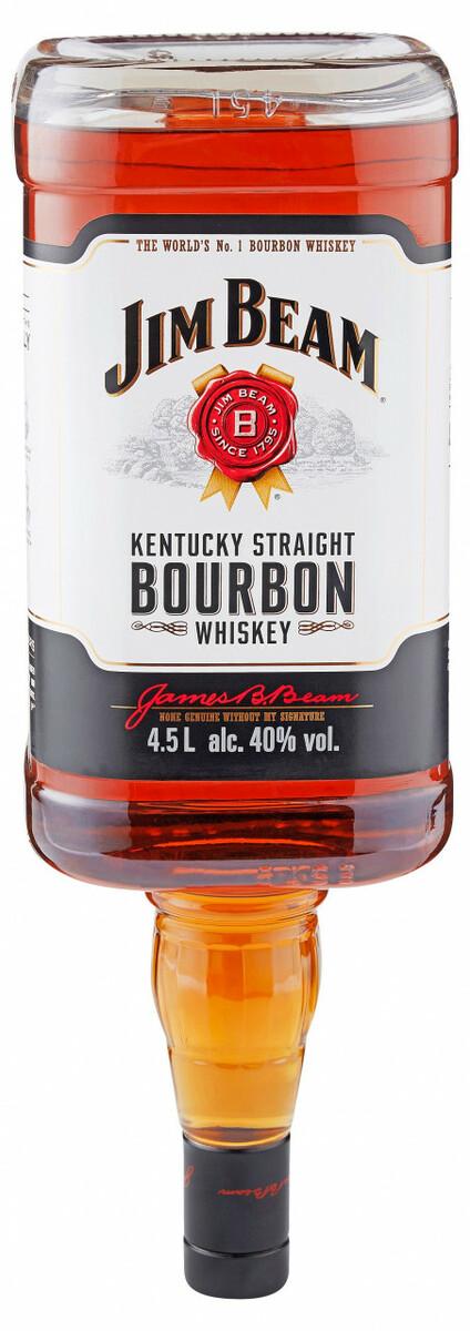 Bild 2 von Jim Beam Bourbon Whiskey - 4,5 L