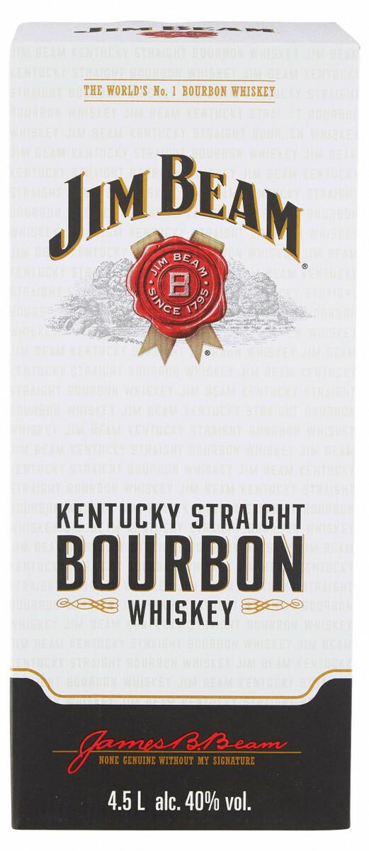 Bild 3 von Jim Beam Bourbon Whiskey - 4,5 L