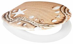 Home Ideas Living WC-Sitz, Muscheln im Sand