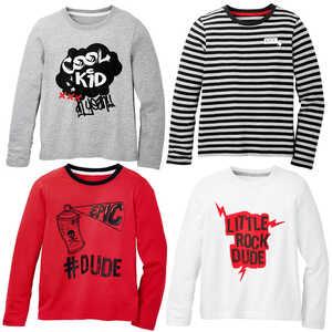 HIP & HOPPS®  Jungen-Langarm-Shirts