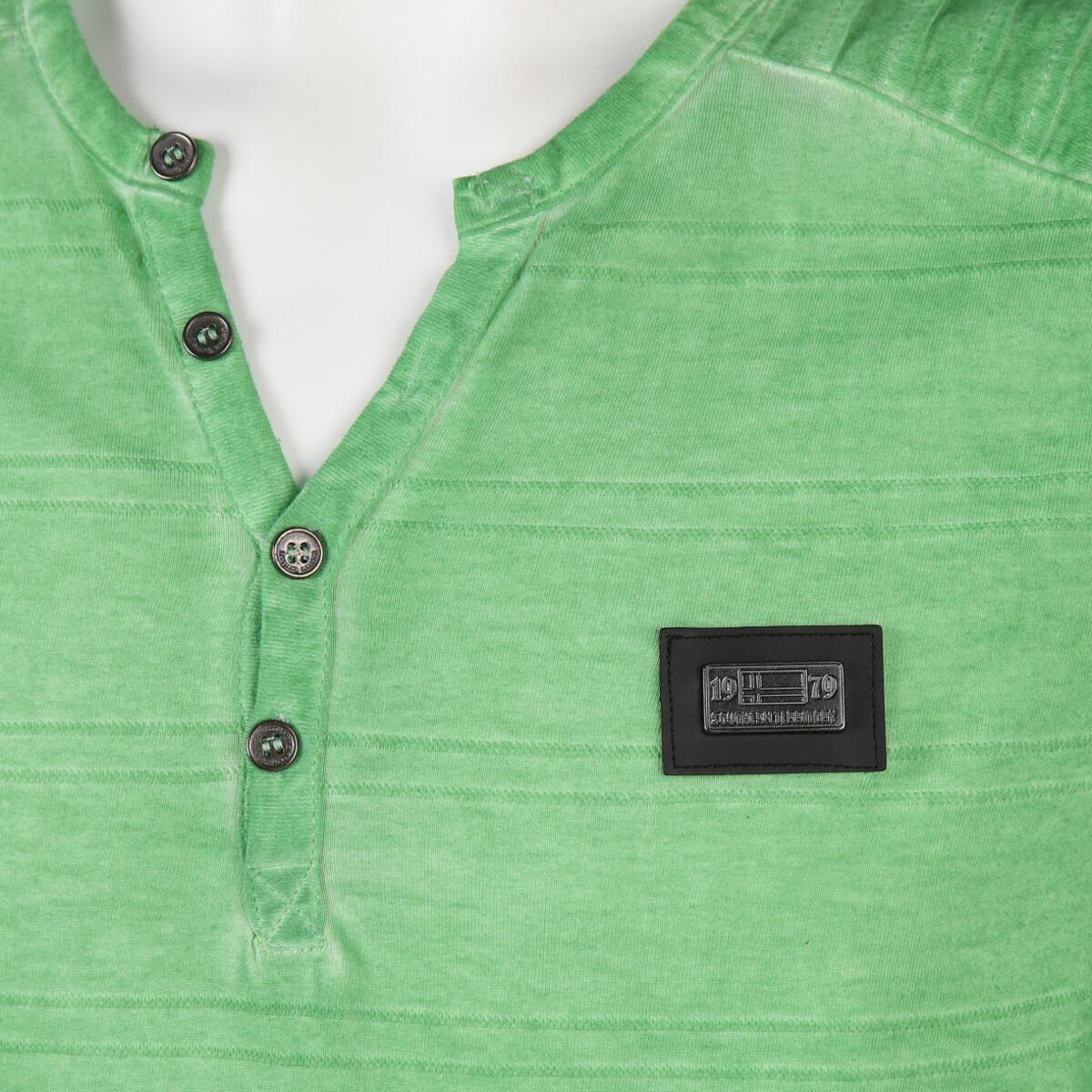 Bild 3 von Herren T-Shirt mit Knopfleiste