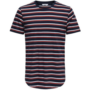 Herren Only&Sons T-Shirt im Ringellook